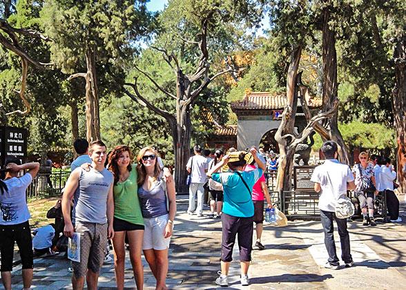 Imperial Garden in Forbidden City, Beijing