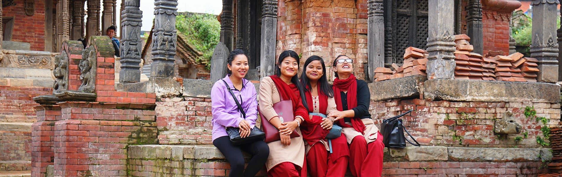 Loal people in Nepal