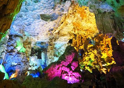 Halong Bay karst cave