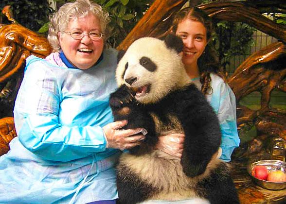 Sichuan Wolong Panda Reserve
