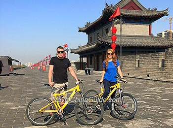 Biking on the City Wall