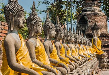 Wat Yai Chaimongkol Ayutthaya