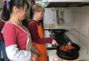 Cooking class in Xian