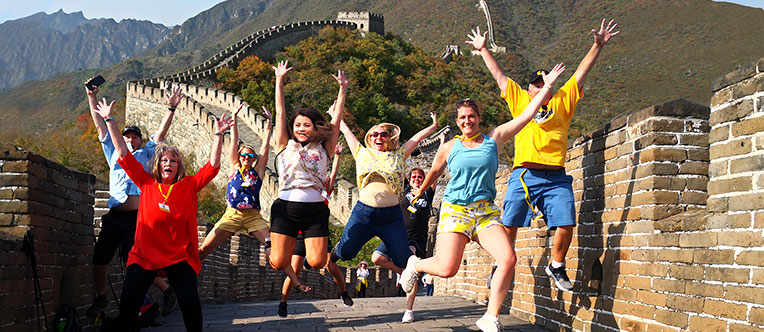 Have an exciting walk on Mutianyu Great Wall