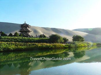 Crescent Lake, Dunhuang