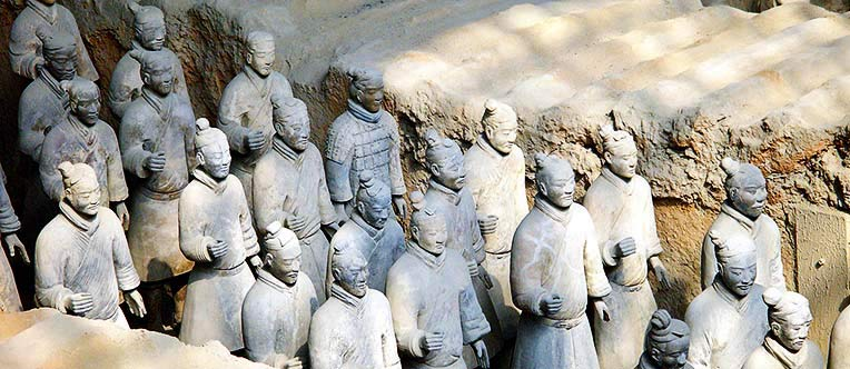 What an amazing experience to see the terracotta soldiers over 2200 years ago!