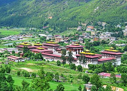 Tashichho Dzong, Bhutan