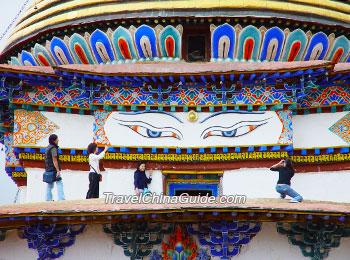 Pelkor Monastery, Shigatse