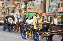 Luxor street view