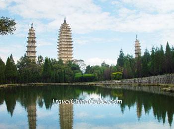 Three Pagodas Temple, Dali