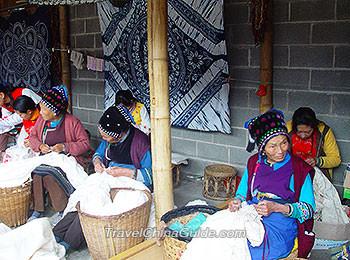 Yunnan minority people