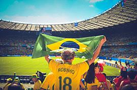 Stadium in Brazil