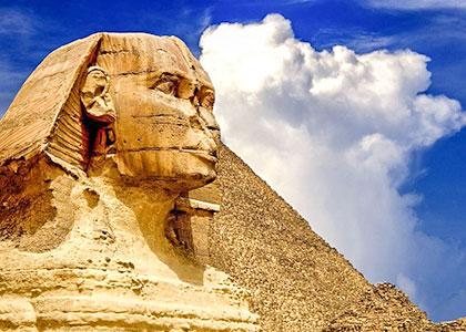 Great Pyramids & Sphinx