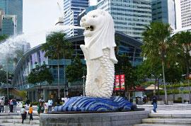 Merlion Park of Singapore