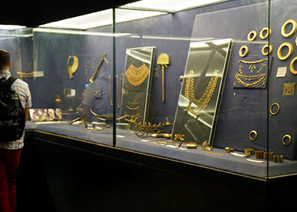 Collections in Egypt National Museum
