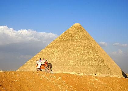 Pyramids of Cheops, Giza