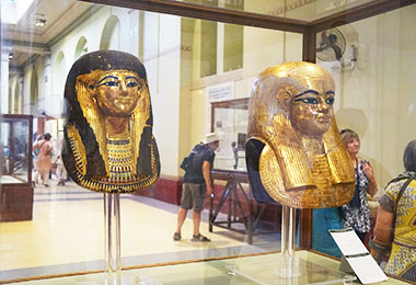 Exhibition at Egyptian Museum