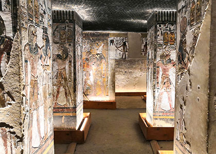 Tomb of King Seti I, Valley of kings