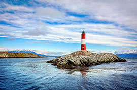 Lighthouse in Beagle Channel