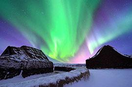 Aurora in Russia