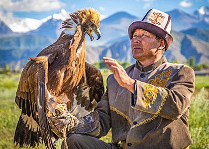 Golden Eagle in Bokonbayevo