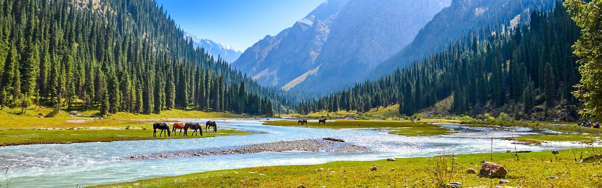 Mount Tianshan, Kyrgyzstan