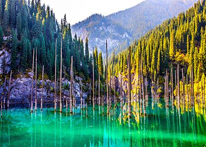 Kaindy Lake, Almaty