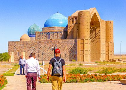 Mausoleum of Khoja Ahmed Yasavi, Turkestan