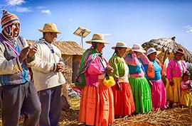 Local people in Peru