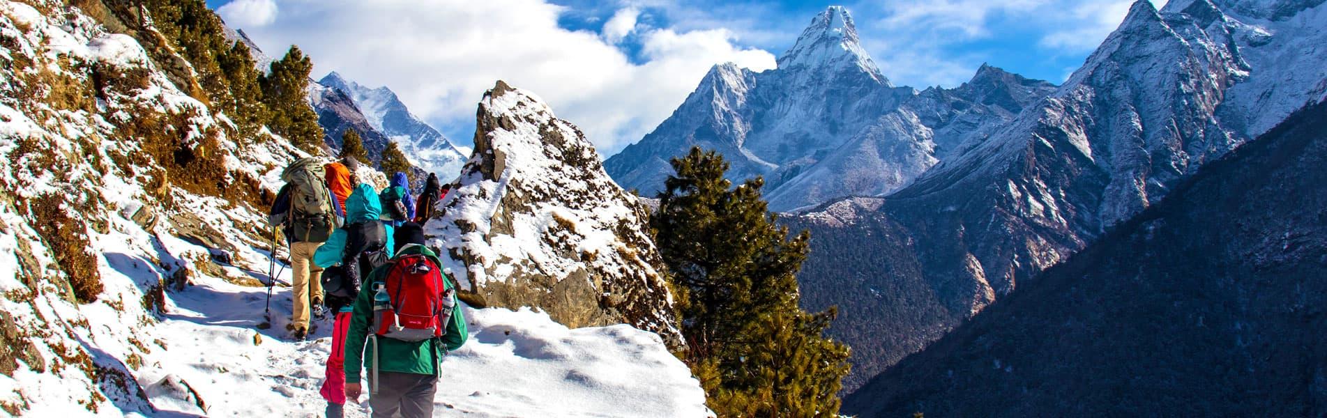 Himalayas Hiking in Nepal