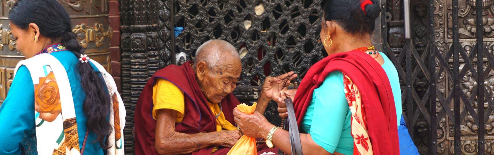 Local people in Kathmandu