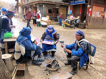Local minority people