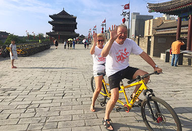 Enjoy bike riding on the City Wall