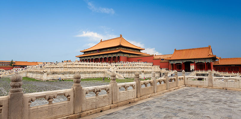 View the magnificent Forbidden City from different angles