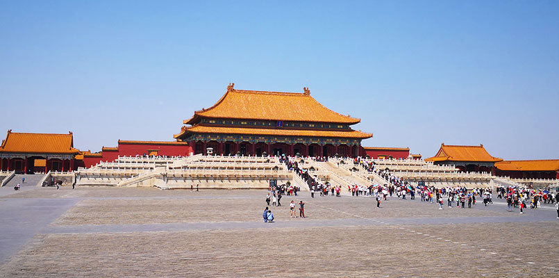 Visit the grand palaces and learn about the imperial life in ancient times