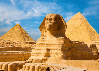 The Great Pyramids of Sphinx