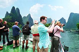 Li River cruise, Guilin