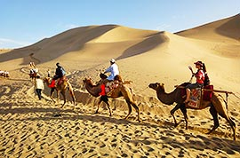 Silk Road camel riding