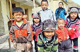 Ethnic minority kids