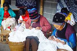 Yunnan minority people