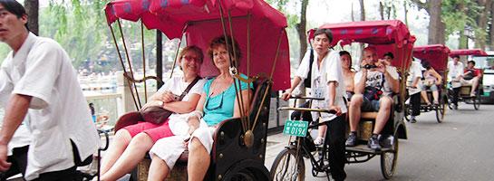 Rickshaw tour in Hutongs
