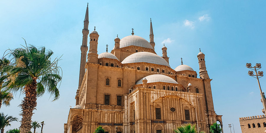 Famous Mohamed Ali Alabaster Mosque