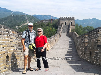 Our clients on the Great Wall