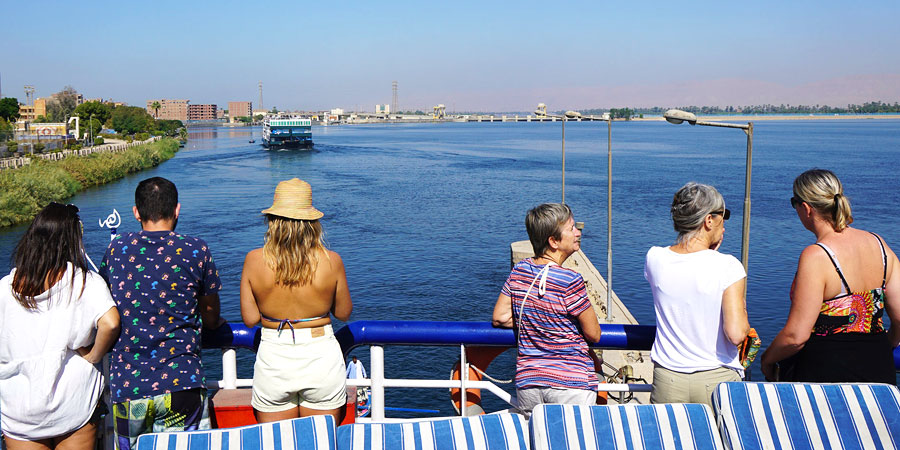 Enjoy yourselves at Nile River cruise