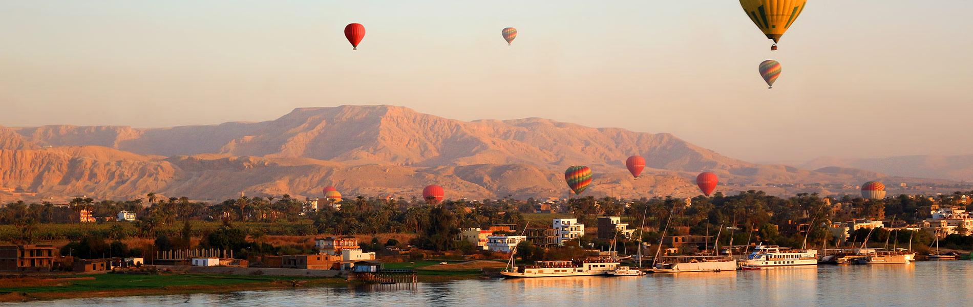 Nile River in Luxor