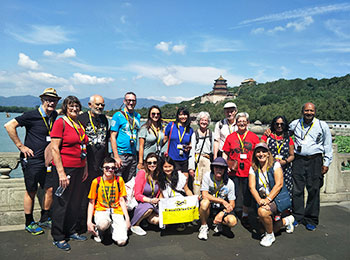 Our clients at the Summer Palace