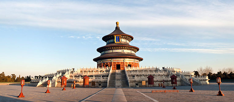 Admire the imposing architectures at the Temple of Heaven