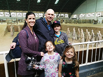 Our guests at Terracotta Army