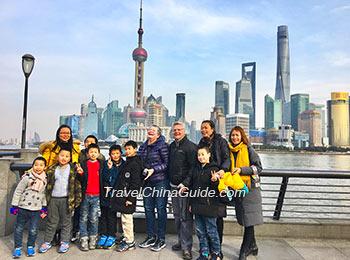 Our clients at Shanghai Bund