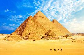 Pyramids of Giza,Cairo